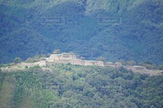 立雲峡から見た竹田城の写真・画像素材[3684773]