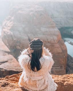 岩のクローズアップの写真・画像素材[2141984]