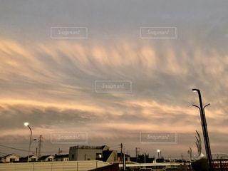 夕暮れの雲の写真・画像素材[1161632]
