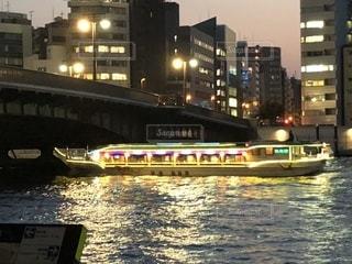 隅田川の屋形船の写真・画像素材[1198736]