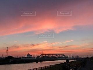 夕暮れの風景の写真・画像素材[1265377]