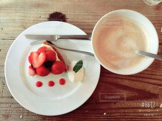 カフェケーキの写真・画像素材[1091120]