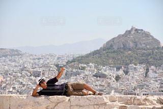パルテノンからの景色の写真・画像素材[1094137]