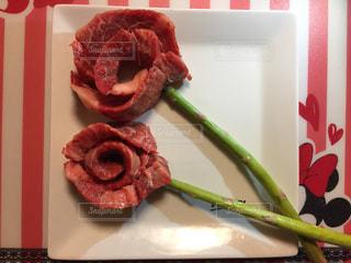 お肉のカーネーションの写真・画像素材[1092161]