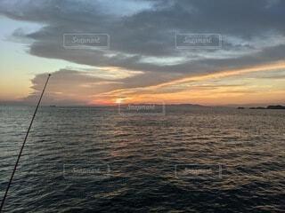 夕日の写真・画像素材[4770949]