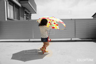 お気に入りの傘の写真・画像素材[1092425]