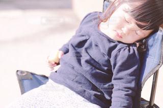 お昼寝の写真・画像素材[1092437]