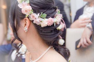 花嫁の横顔の写真・画像素材[1097045]