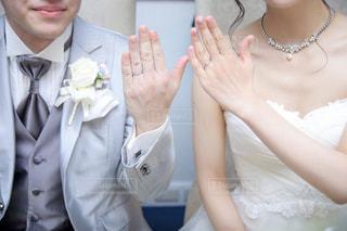 結婚指輪💍の写真・画像素材[1098399]