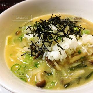 山菜ときのこの和風パスタの写真・画像素材[1110646]