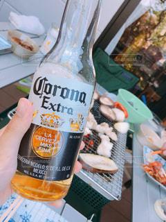 BBQとビールの写真・画像素材[1165337]