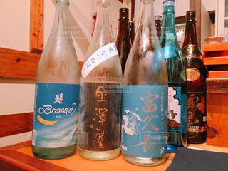 日本酒飲み比べの写真・画像素材[1262072]