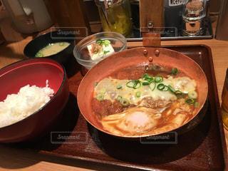 3番街で味噌カツ丼の写真・画像素材[1092113]