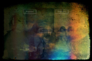 抽象化された集合写真の写真・画像素材[1101841]