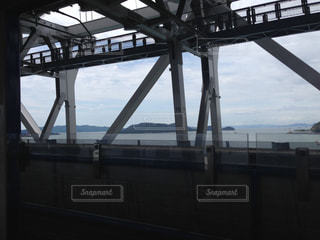 瀬戸大橋からの風景の写真・画像素材[1092834]