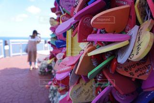 ピンクの花のグループの写真・画像素材[1092856]