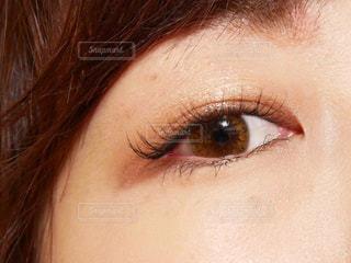 瞳アップの写真・画像素材[1795136]