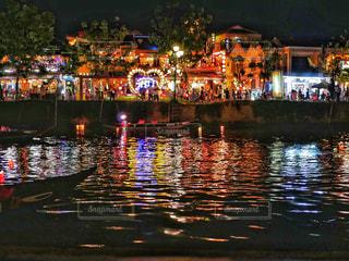 夜の街の眺めの写真・画像素材[2269692]