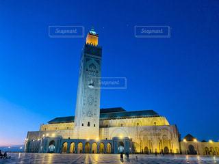 サンセットモスクの写真・画像素材[2618099]