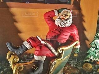 サンタクロースの写真・画像素材[3926037]