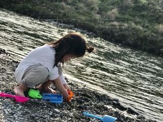 川遊びの写真・画像素材[1093518]