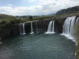 原尻の滝の写真・画像素材[1124058]