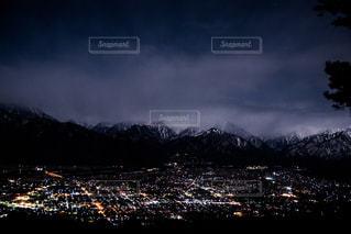 自然と夜景の写真・画像素材[1113047]