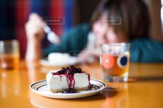 レアチーズケーキの写真・画像素材[1113058]