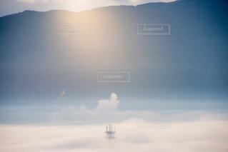 雲の上の写真・画像素材[1113075]