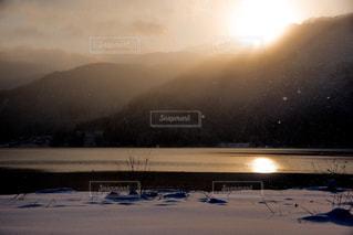 冬の風景の写真・画像素材[1113139]
