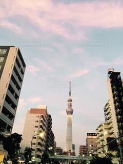 高層ビルの都市の景色の写真・画像素材[1103407]