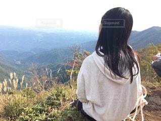 山登りの写真・画像素材[1095670]