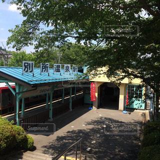 レトロかわいい別所温泉駅の写真・画像素材[1095843]