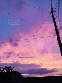 空には雲のグループの写真・画像素材[1116163]