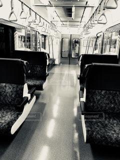 無人電車の写真・画像素材[1119595]
