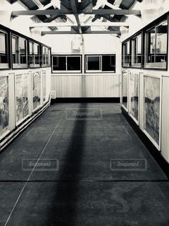 無人駅の駅舎の写真・画像素材[1119603]