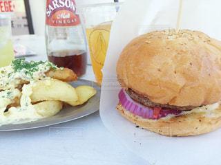 ハンバーガーの写真・画像素材[1098762]