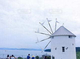 小豆島の風車の写真・画像素材[1137066]