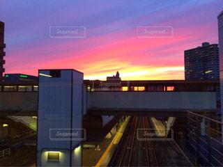 駅からの眺めの写真・画像素材[1097576]