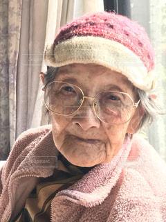 大好きな103歳おばあちゃんの写真・画像素材[1707734]