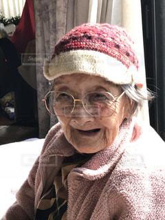 103歳のおばあちゃんの写真・画像素材[1707735]