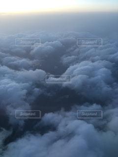 雲の上の写真・画像素材[1097416]
