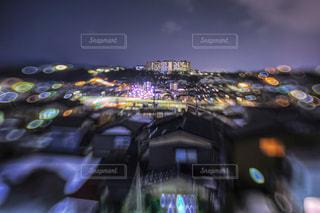 夜の金沢の写真・画像素材[1097827]