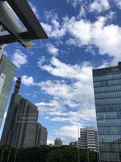 都市の高層ビルの写真・画像素材[1131923]