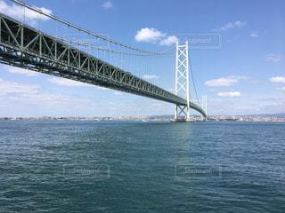 瀬戸大橋の青空の写真・画像素材[1099345]