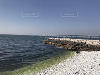 水の大きな体の写真・画像素材[1150792]