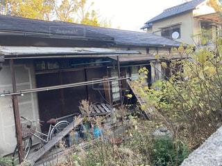 昭和の空家の写真・画像素材[3984107]