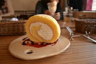 ロールケーキの写真・画像素材[1099037]