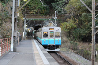 駅と電車の写真・画像素材[1107289]