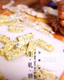 食品のプレートの写真・画像素材[1099649]
